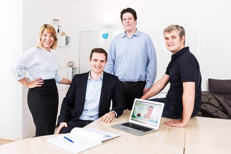 Teamfotos Imagefotos Fotograf Hamburg Business Startup